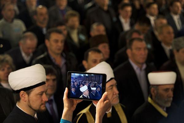 Congresso della comunità tatara in Crimea