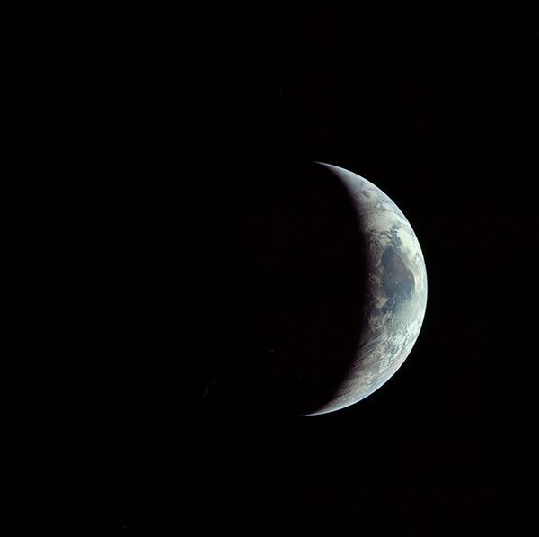 La Terra vista dall'Apollo 11