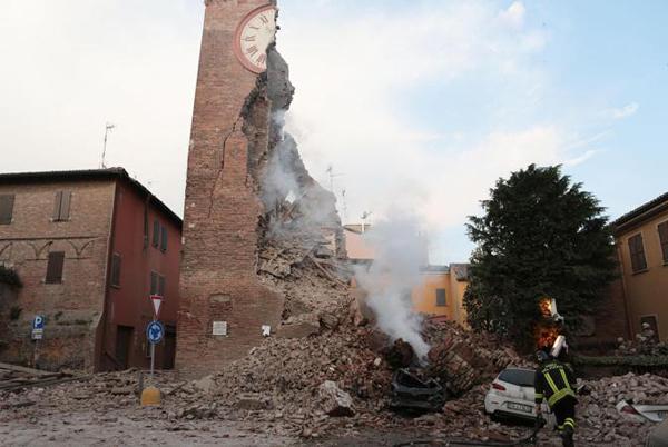 I danni del terremoto in Emilia Romagna