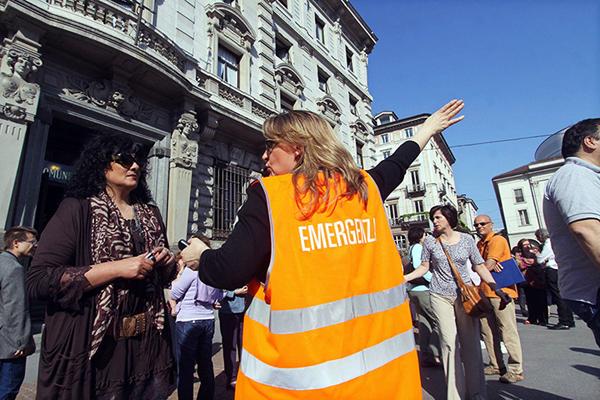 Volontaria per l'emergenza terremoto in Emilia Romagna