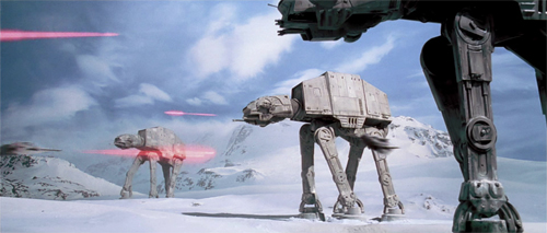 Scena tratta da 'The Empire Strikes Back'