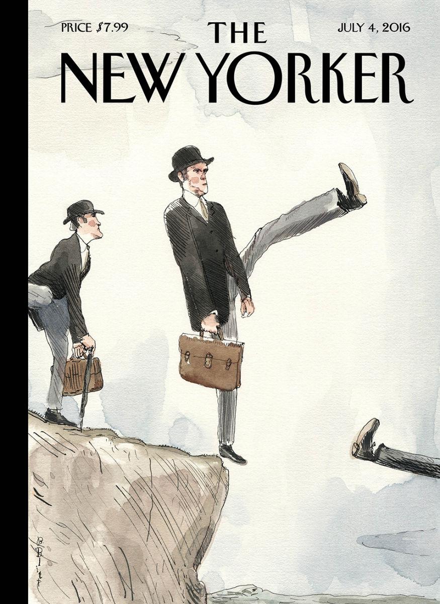 La copertina del New Yoker sulla Brexit