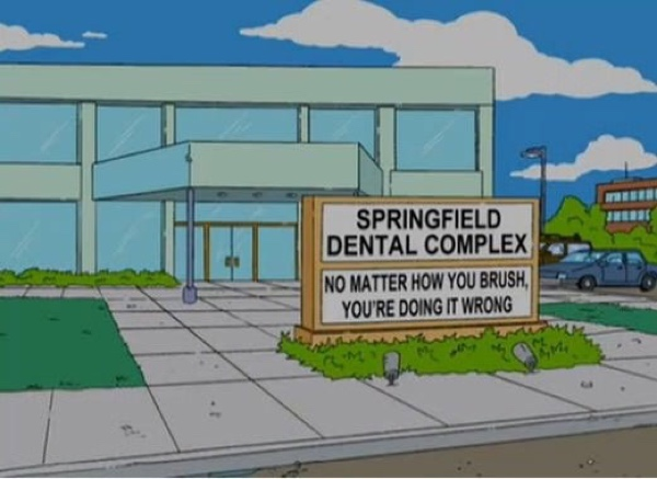 Scena tratta da The Simpsons