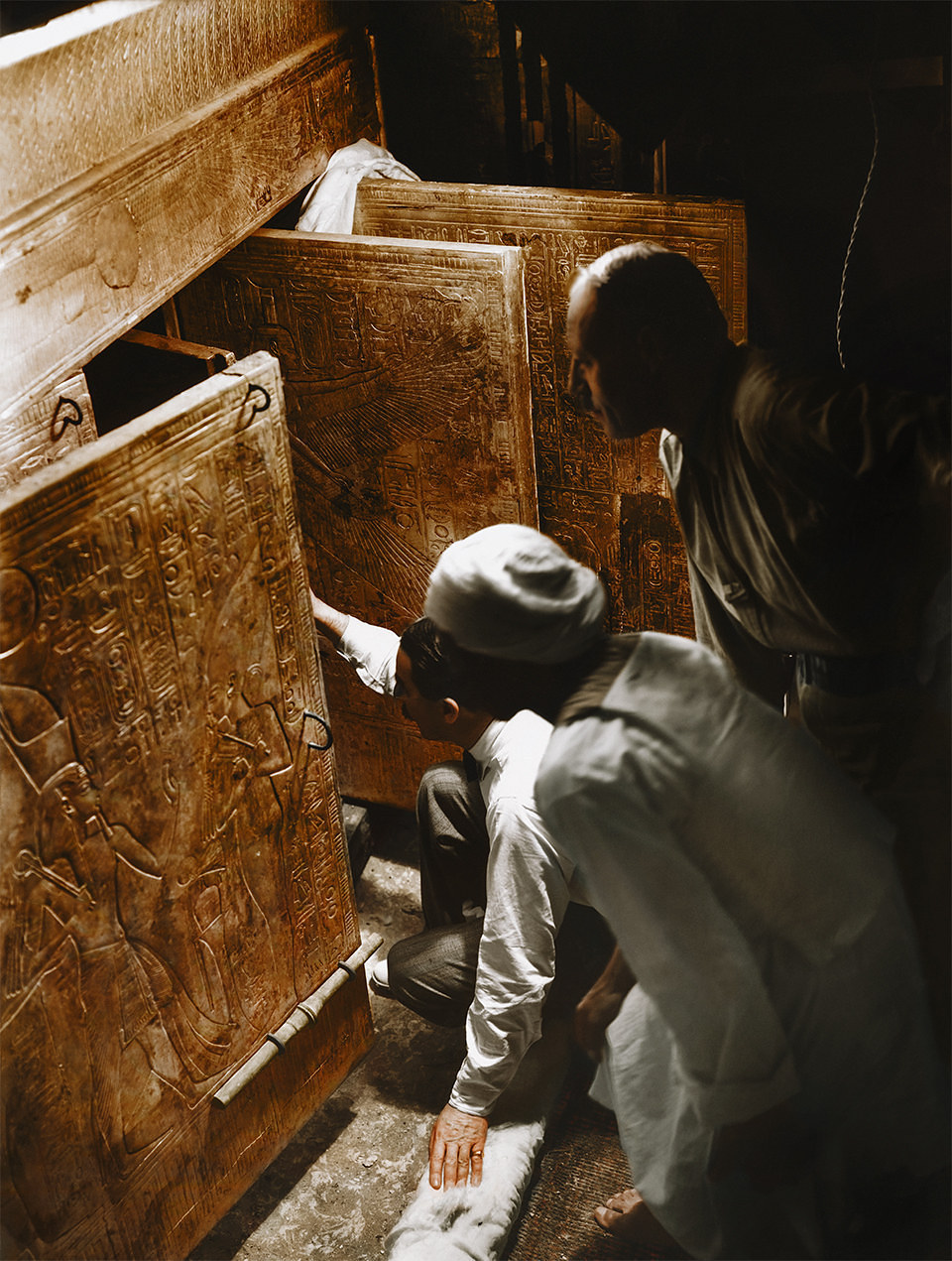Tomba di Tutankhamon a colori