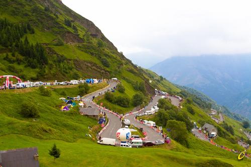 I Pirenei al Tour 2011