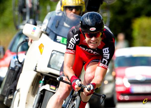 Cadel Evans a cronometro vince il Tour