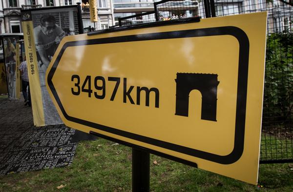 3497 chilometri a Parigi