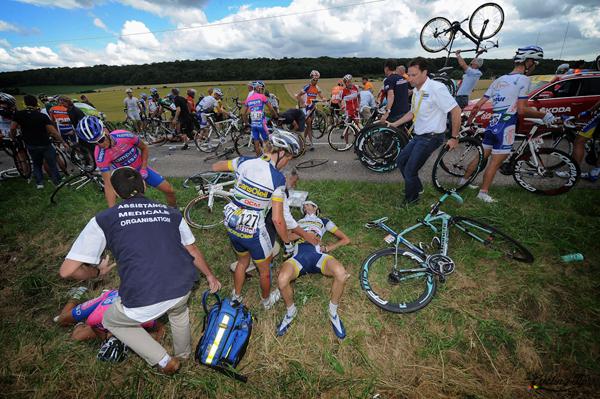 Cadute al Tour 2012