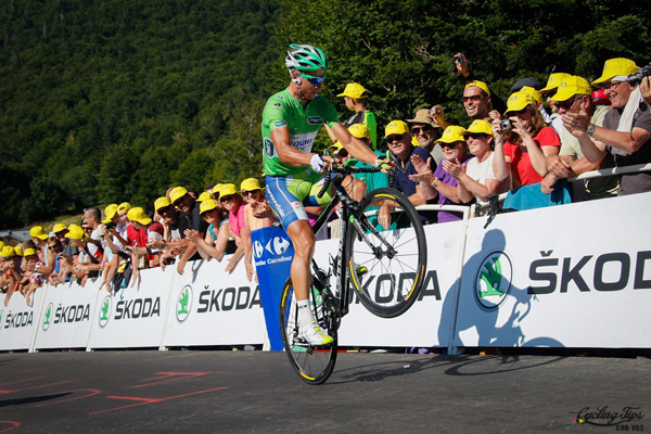 Sagan impenna al Tour 2012