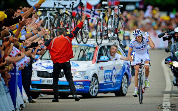 Pinot vince una tappa al Tour 2012