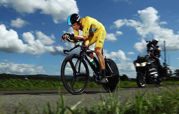 Wiggin a cronometro al Tour 2012