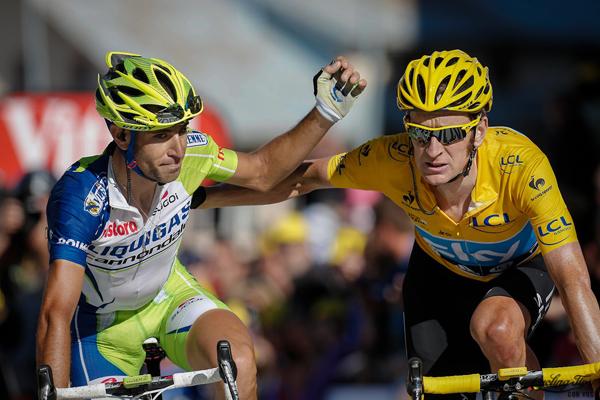 Wiggins e Nibali al Tour 2012
