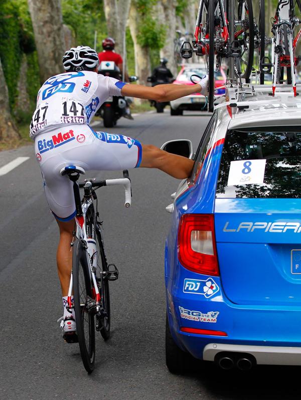 Roux si fa medicare al Tour 2012