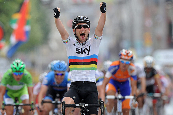 Cavendish al Tour 2012