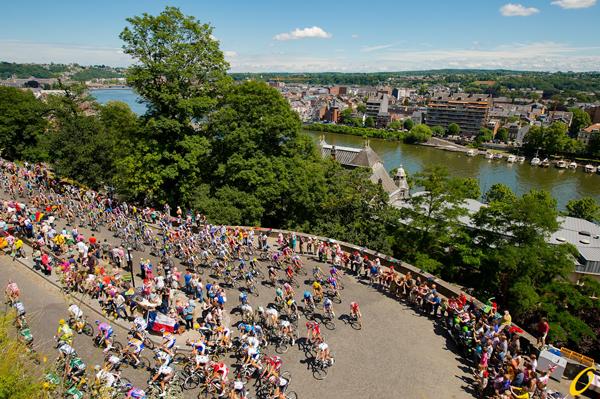Il Tour 2012 a Namur