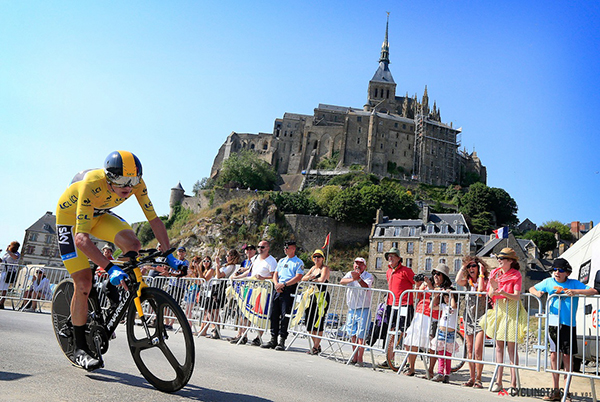 Froome a cronometro al Tour de France 2013