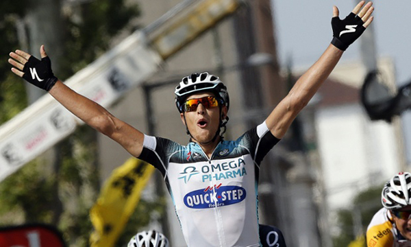 Matteo Trentin vince a Lione al Tour 2013