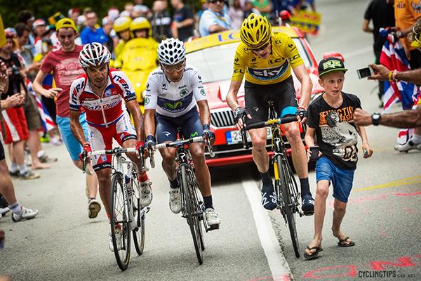 Rodriguez, Quintana e Froome al Tour 2013