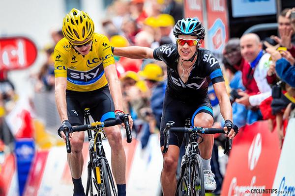 Froome e Porte al Tour 2013