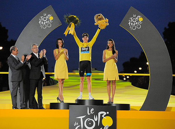 Chris Froome vince il Tour 2013