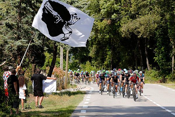 Bandiera della Corsica al Tour 2013