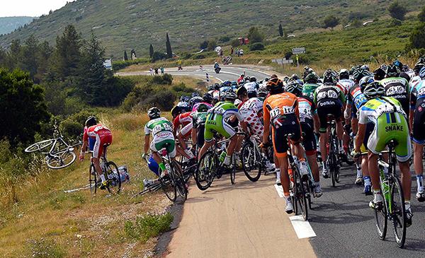 Caduta al Tour de France 2013