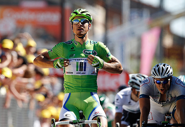 Sagan vince una tappa al Tour 2013