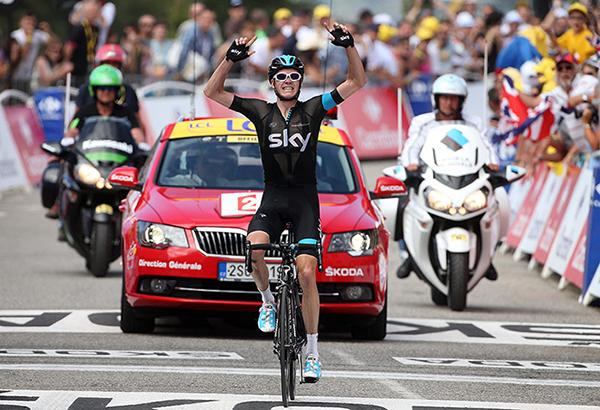 Froome dominatore della prima salita al Tour 2013