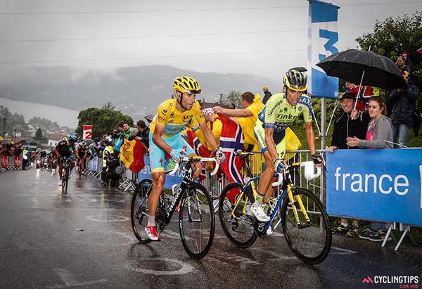 Nibali e Contador al Tour 2014