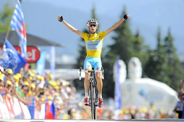 Nibali in maglia gialla al Tour 2014