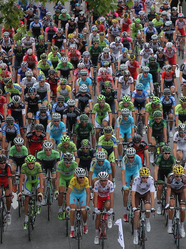 Il gruppo al Tour 2014