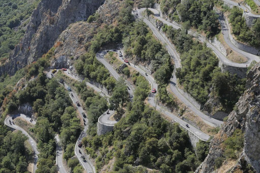 Salita dei Lacets de Montvernier al Tour 2015