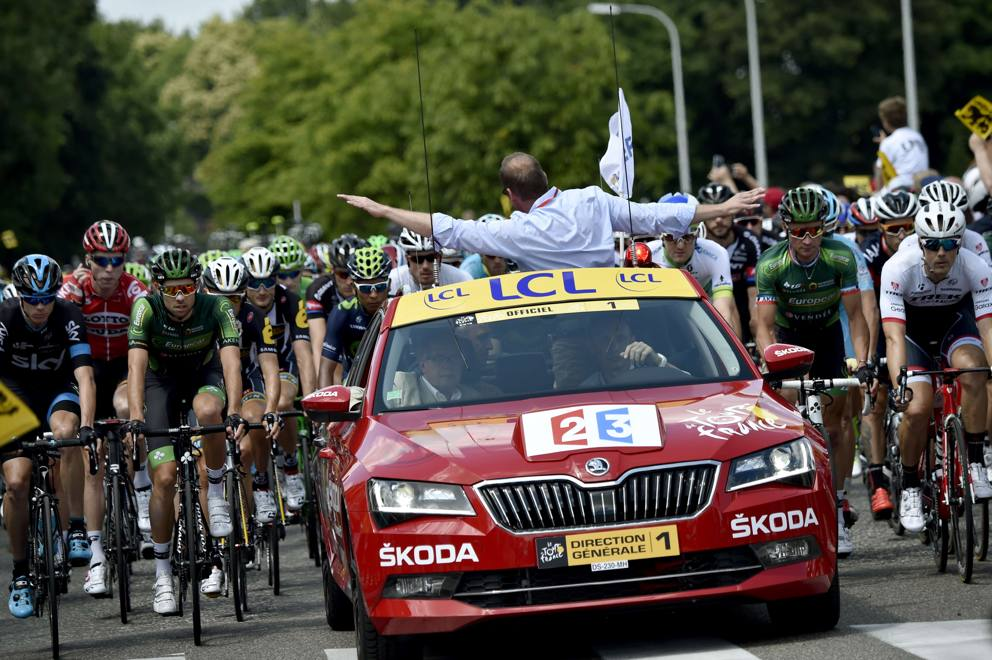Safety car al Tour 2015