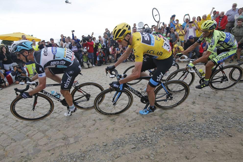 Contador, Froome e Martin al Tour 2015