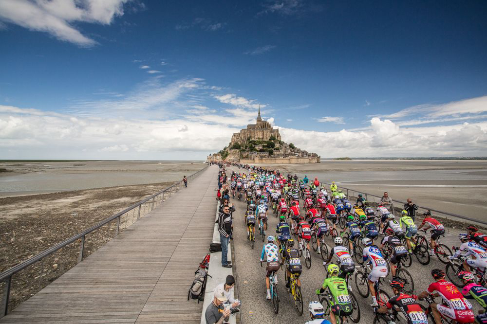 Il Tour 2016 a Mont Saint-Michel