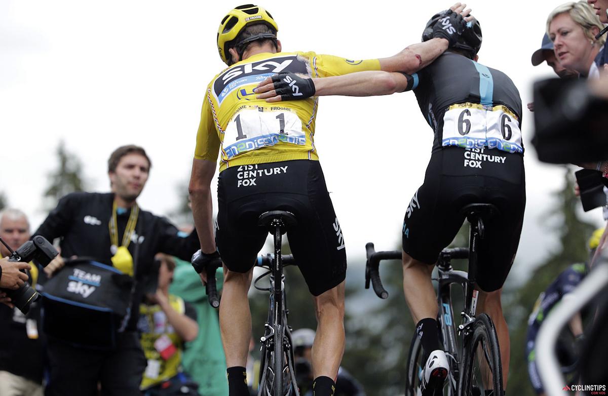 Froome e Poels al Tour 2016