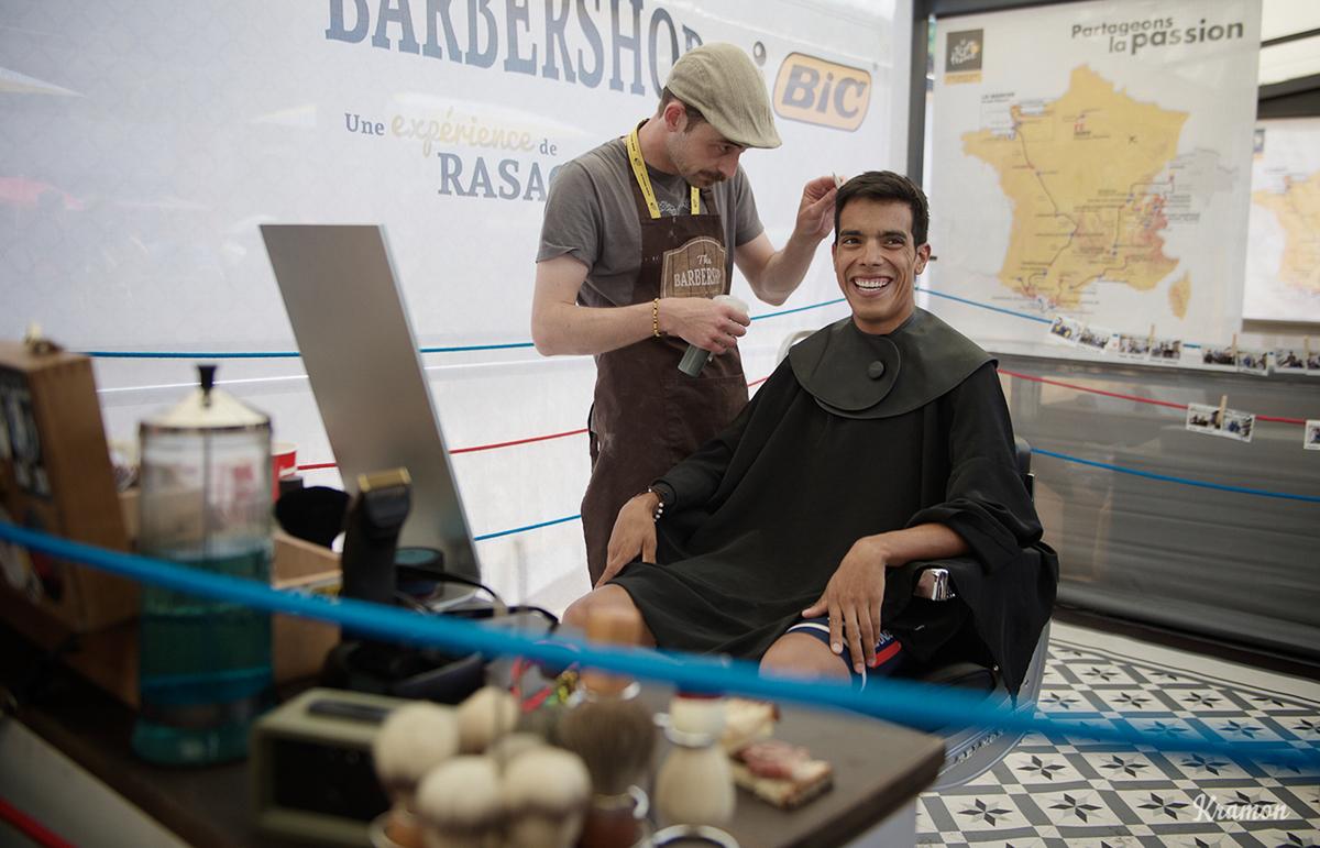 Pantano dal barbiere al Tour 2016
