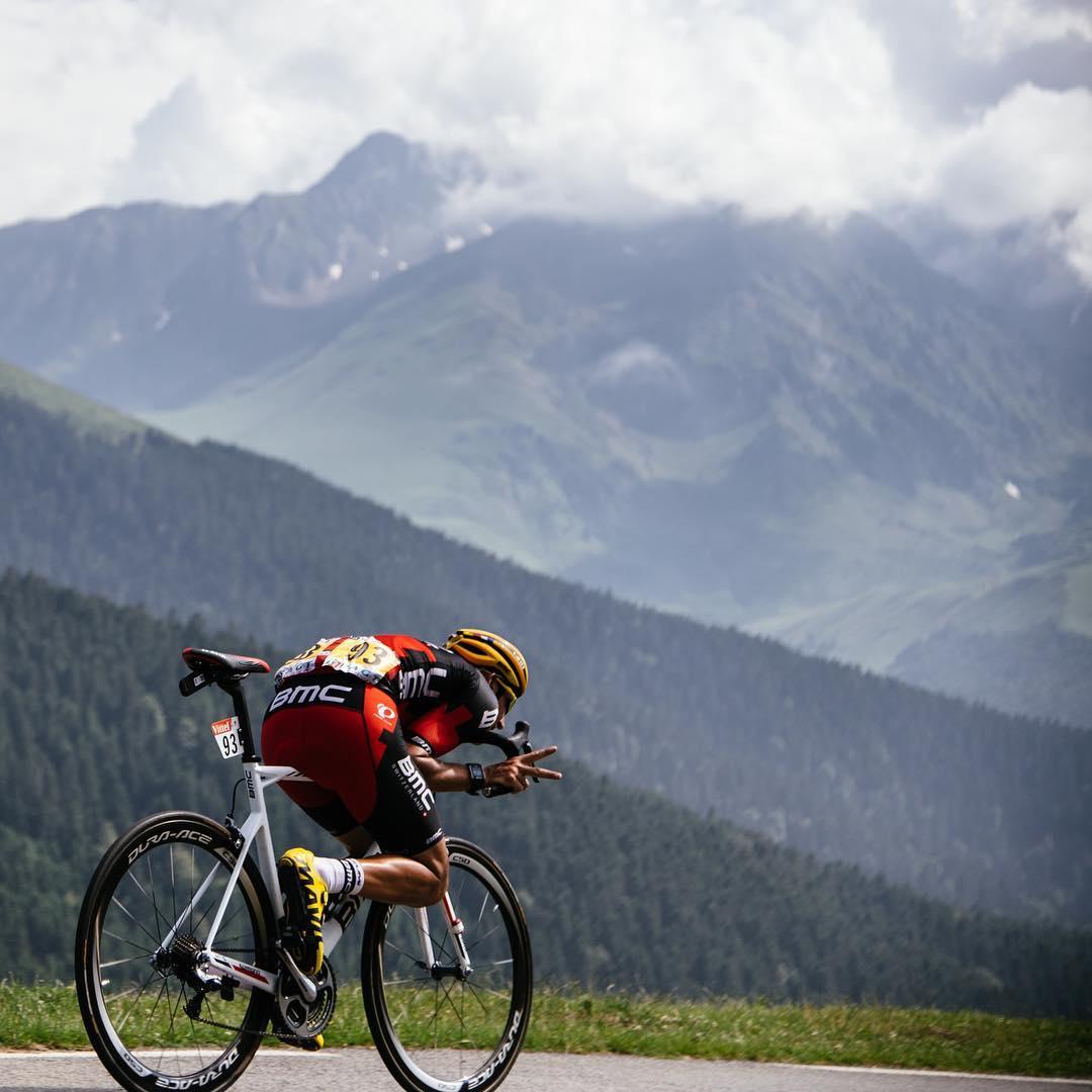 Burghardt sui Pirenei al Tour 2016