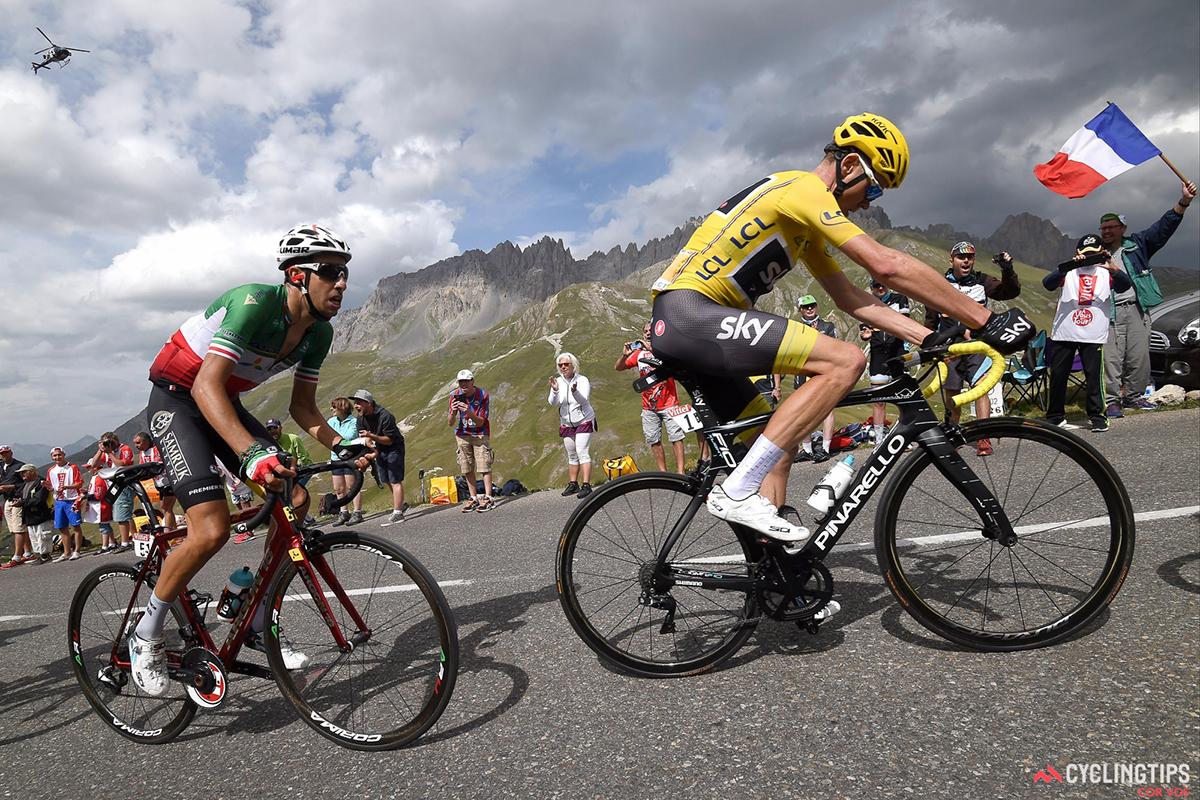 Arue e Froome al Tour 2017