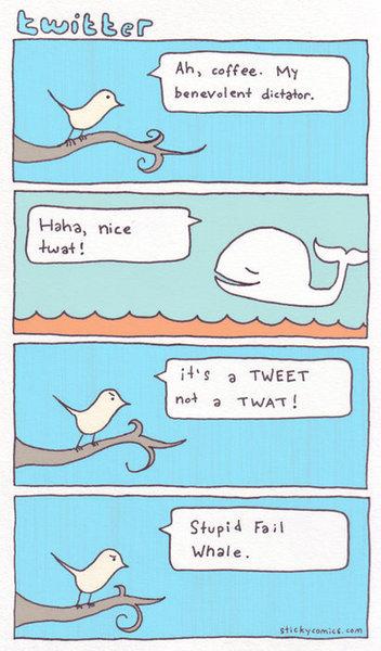 Vignetta su Twitter