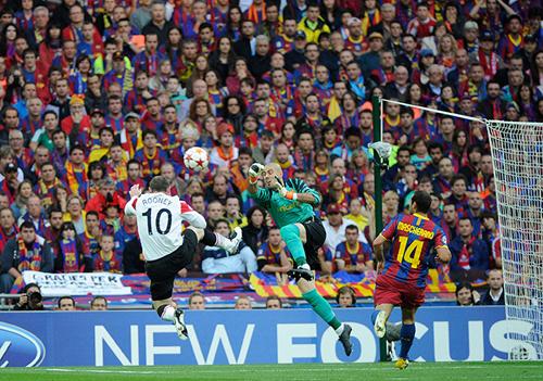 Un'azione tra Barcellona e Manchester