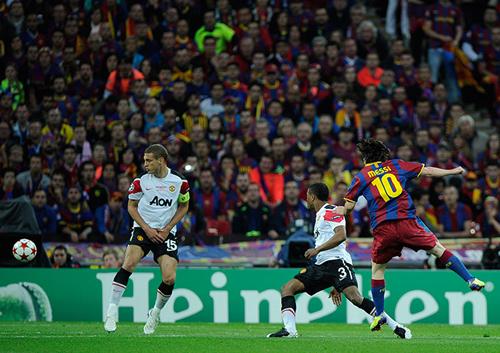 Messi segna