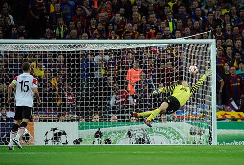 Il gol di Messi