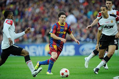 Messi in azione