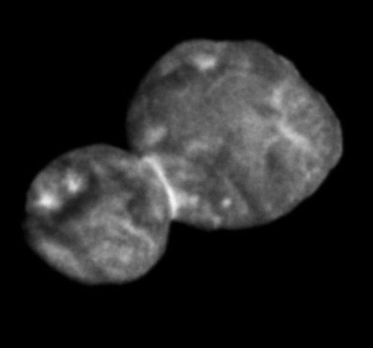 Ultima Thule fotografata dalla sonda New Horizons della NASA