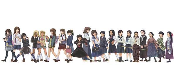 Le uniformi femminili giapponesi