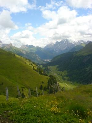 La Val Duron vista da ovest