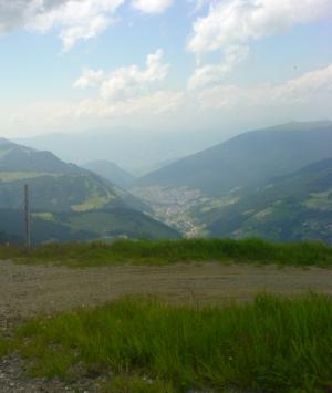 La Val Gardena dal Ciampinoi