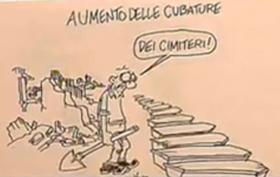 La vignetta di Vauro su Berlusconi