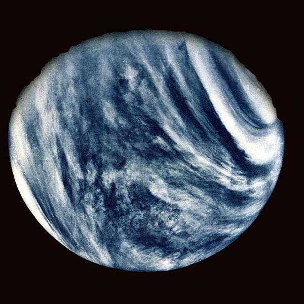 La prima foto di Venere scattata nel 1974